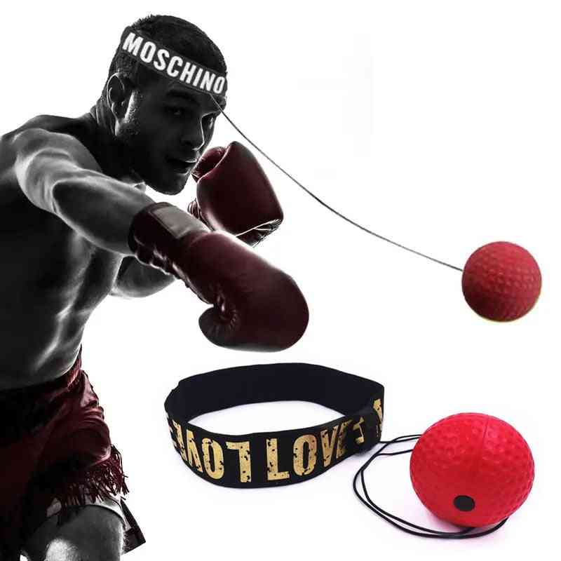 Boxing Reflex Speed Punch Ball, Hand Eye Training Gym, Muay Thai, Fitness Exercise Boxe Accessories