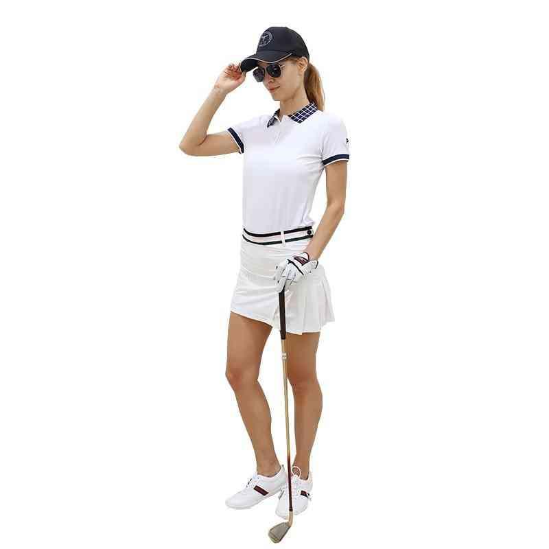 Lady Golf Pleated Short Skirt