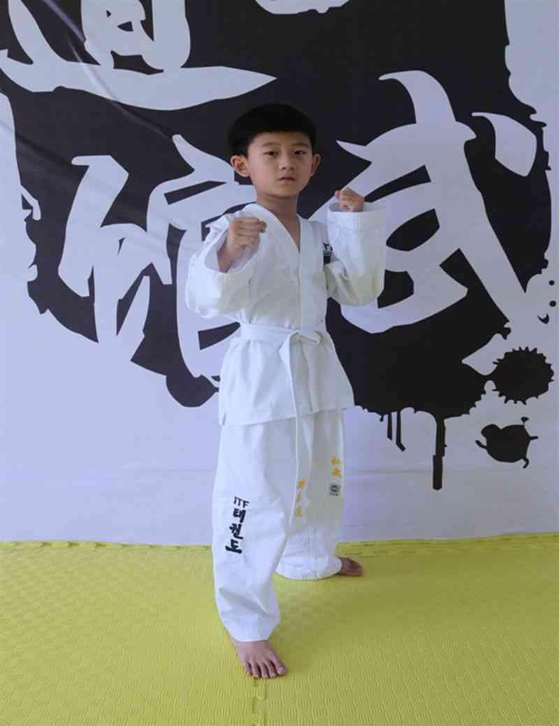 Taekwondo Uniform Adult And, Dobok Embroidery Pattern