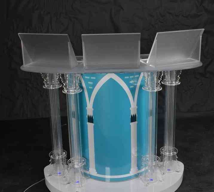 High-quality Wholesale On Stage Folding Led Dj Booth, Portable Led Lights (gh-c007-3)
