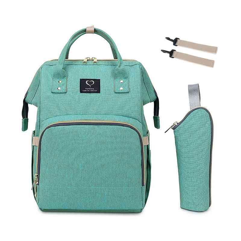 Maternity Bag, Baby Diaper Backpack, Large Capacity, Waterproof Nappy Bags, Kits Moms Travel, Nursing Handbag