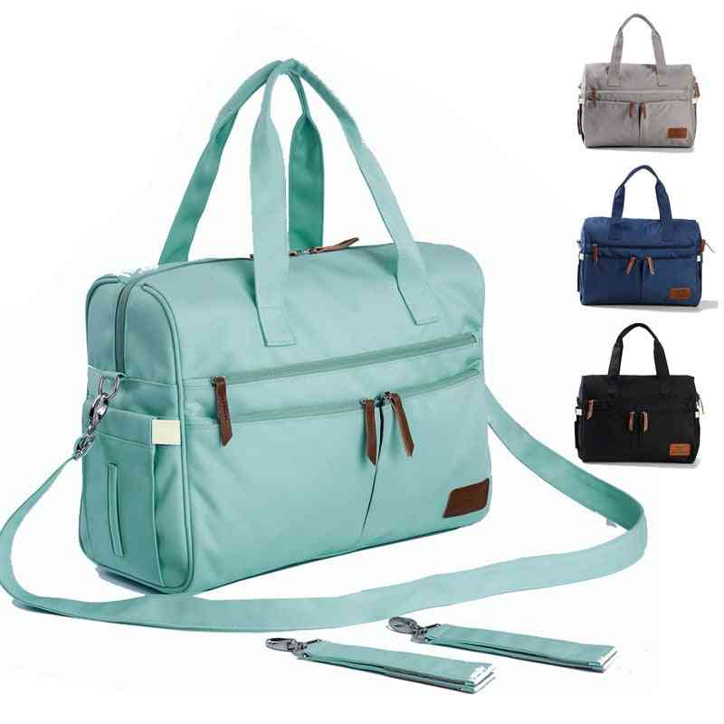 Baby Diaper Bags, Large Capacity, Mommy, Mom Travel Shoulder, Waterproof, Nappy Portable Stroller Bags