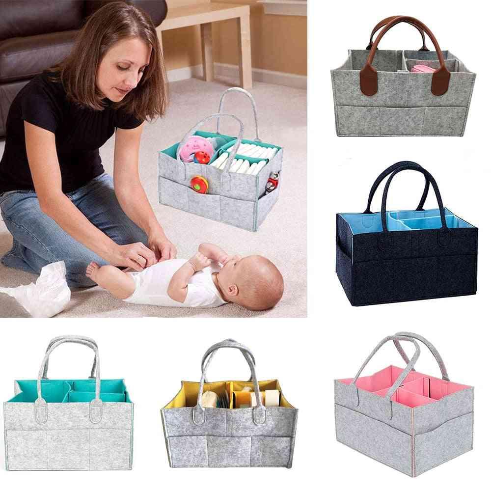 Maternity Handbag, Baby Diaper Bag, Newborn Nursery Storage, Foldable Nappy Baby Care Organizer Container