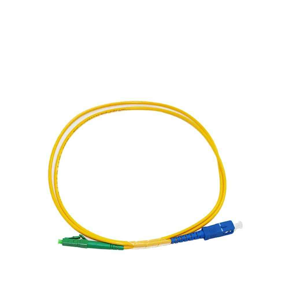 1.0 Meter Sc Upc To Lc Apc Fiber Patch Cord Cable Simplex Sm Single Mode 9/125 Ftth