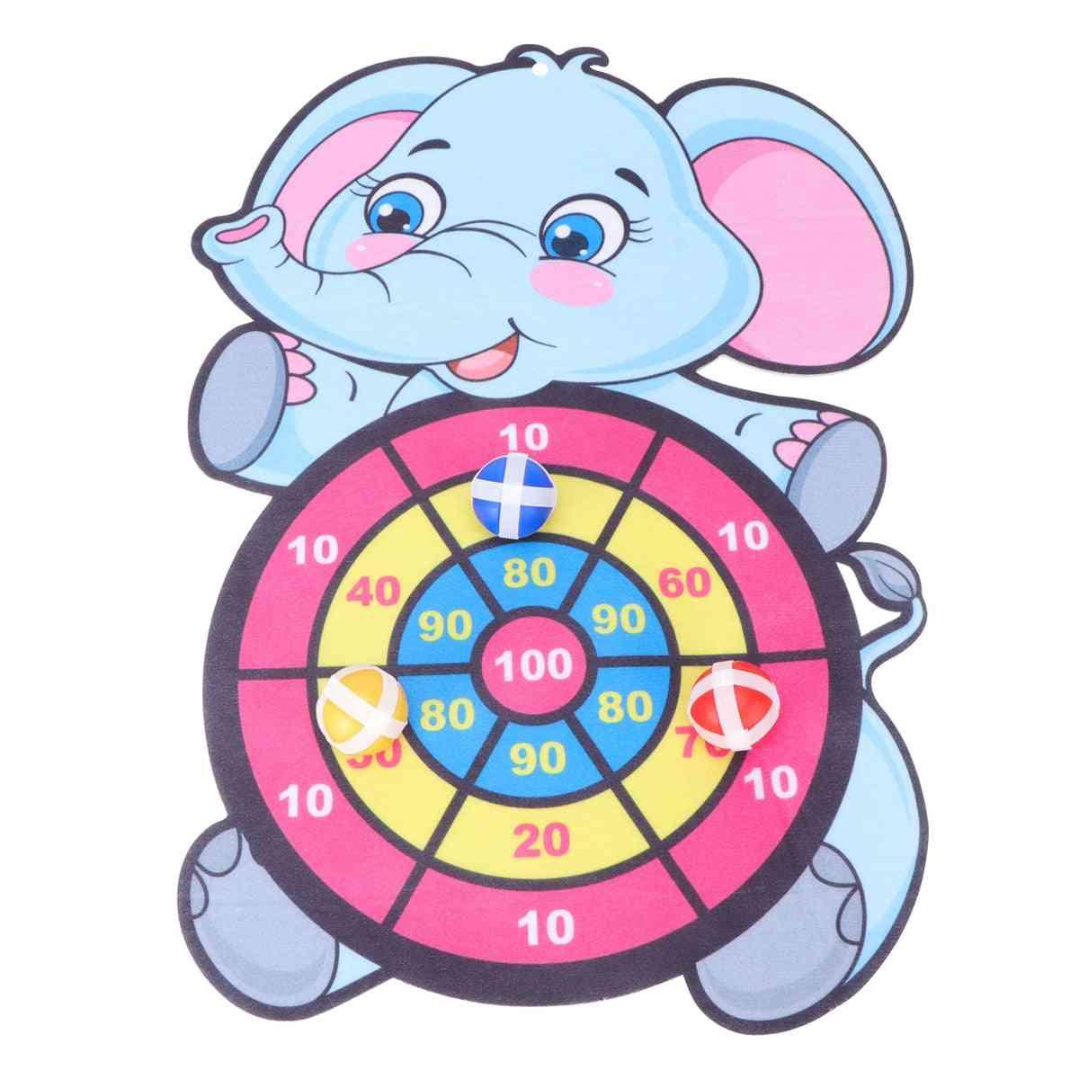 Children Cartoon Animal Dart Board Accessories