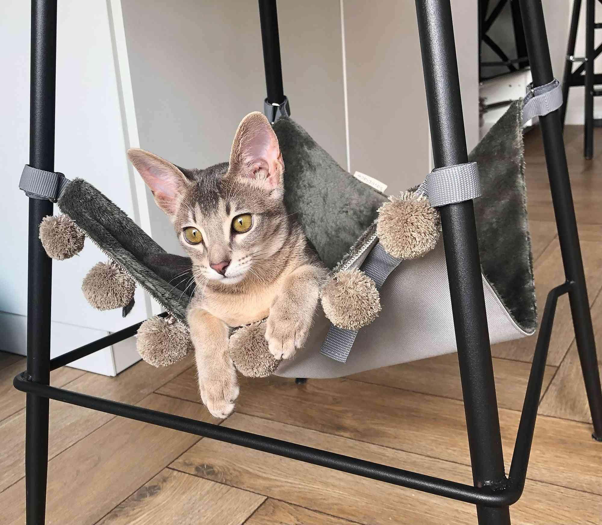 Short Fake Fur Saveplace® Hanging Mat/hammock/rack For Storage & Pets