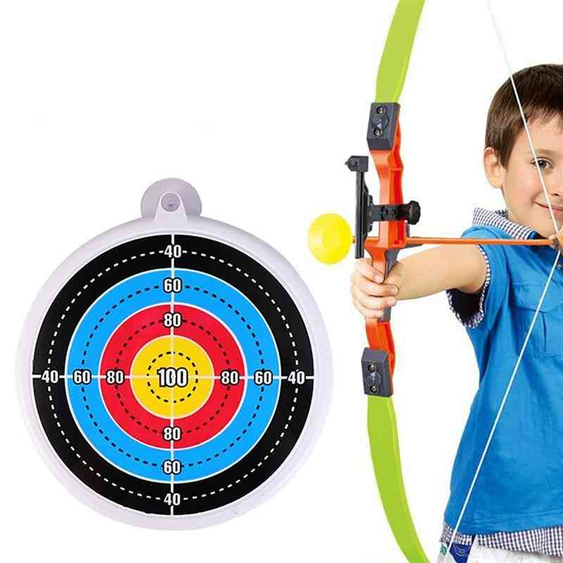 Archery Target Bow And Arrows