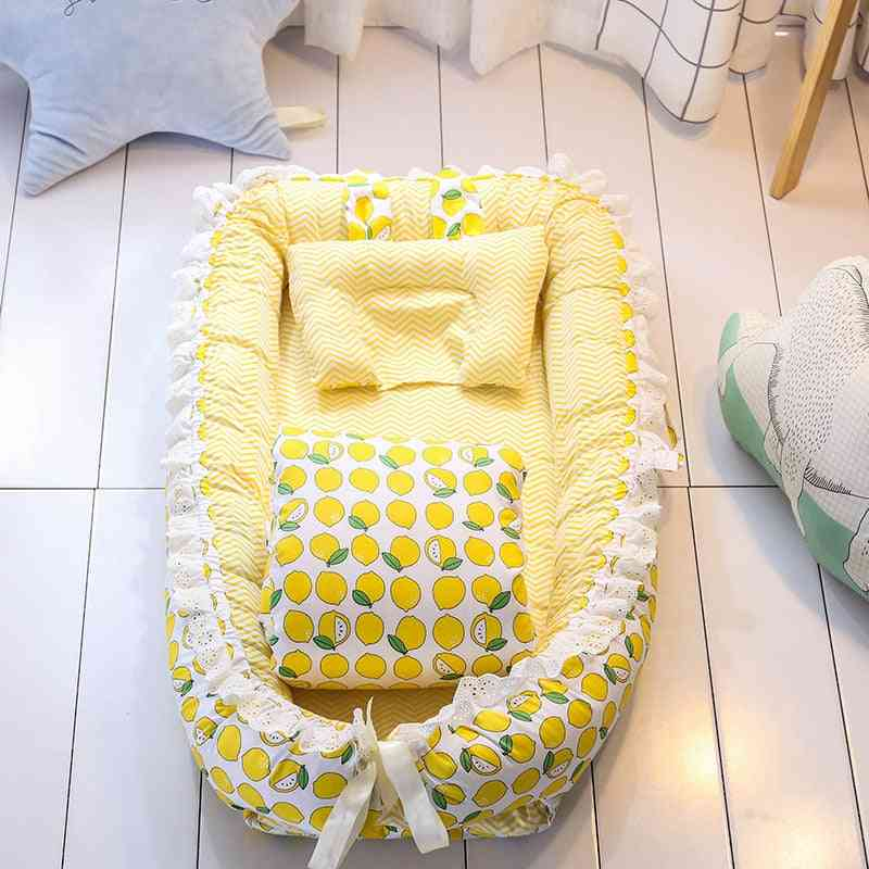 Baby Traveling Bed, Newborn Bionic Bassinet Play, Cradle Soft And Comfortable