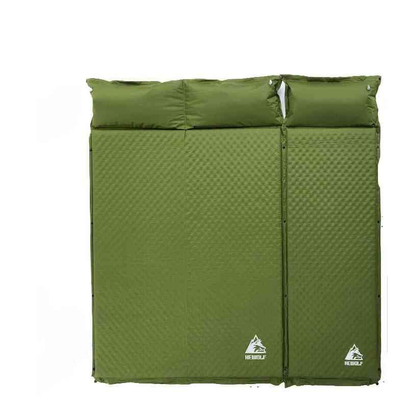 2+1 Spliced, Automatic Cushion Pad- Outdoor Tent, Camping Mats, Bed Mattress