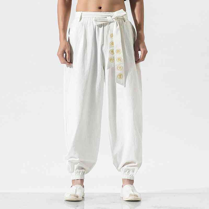 Martial Arts Wing Clothing Training Trousers