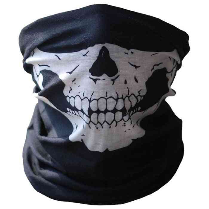 Outdoor Skull Seamless, Balaclava Magic Scarf, Sun Protection, Neck Gaiters Scarf