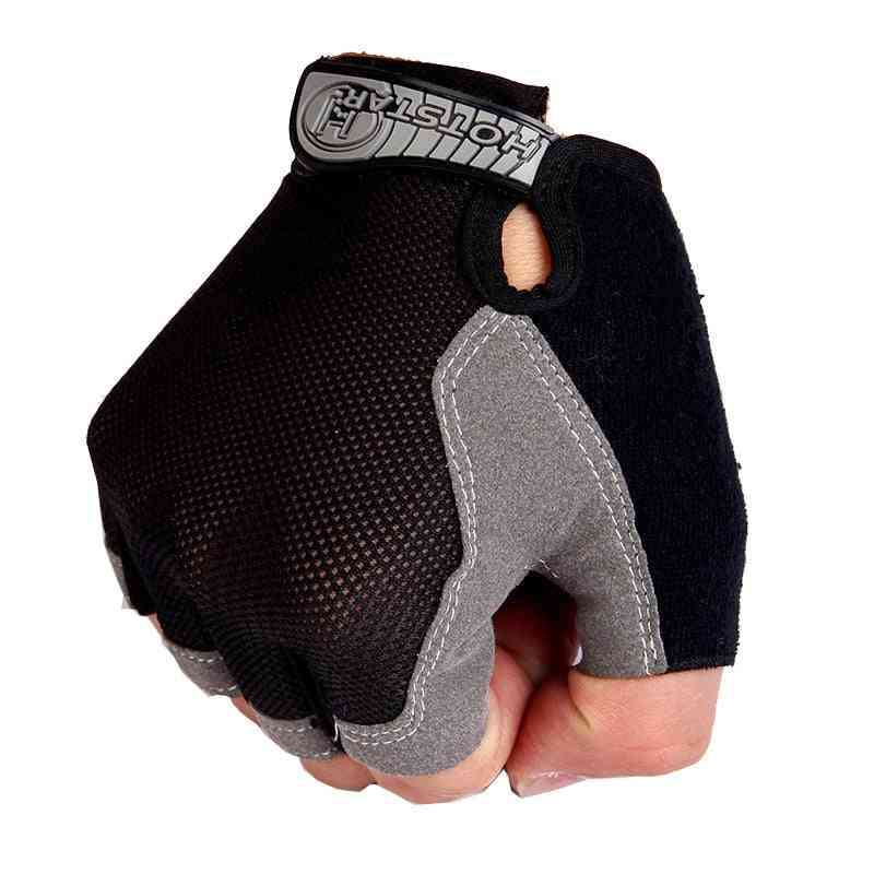 Sports Gym Gloves, Men Fitness Training Exercise, Anti Slip Weight Lifting, Half Finger Body Workout Men Women Glove