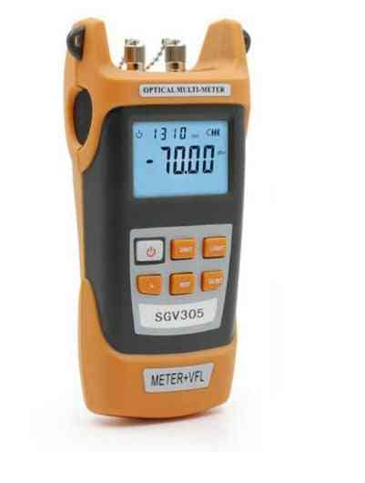 High-precision Optical Power Meter -70~+3dbm And 5mw Vflvisual Fault Locator Laser Light Source
