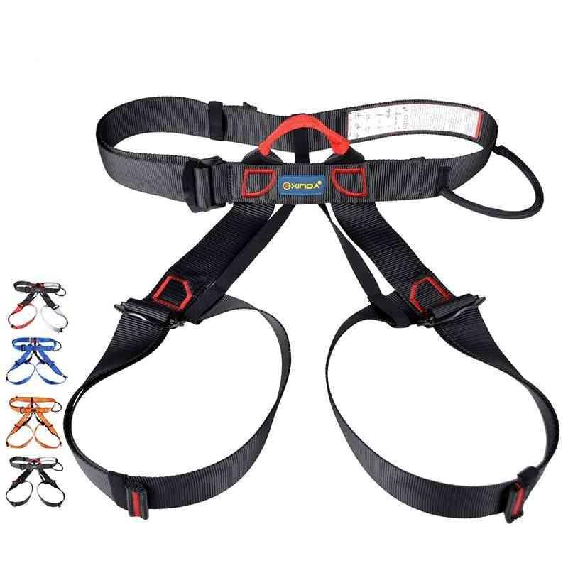 Outdoor Sports Safety Belt, Rock Mountain Climbing, Harness Waist Support