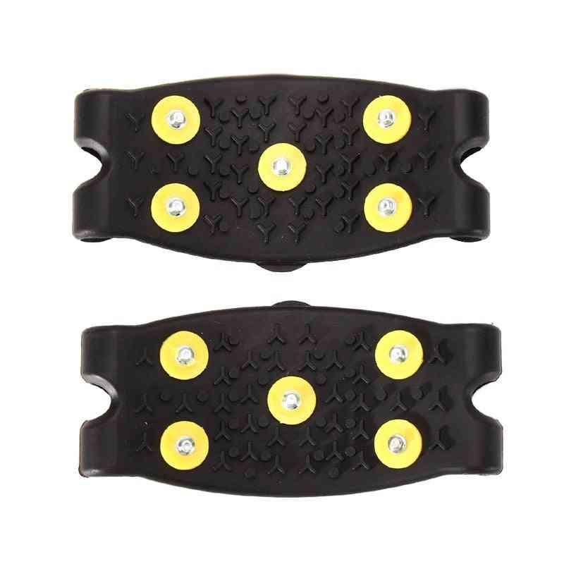 5-studs, Ice-spikes For Shoes Ice-floes, Snow Climbing, Grips Shoes Covers