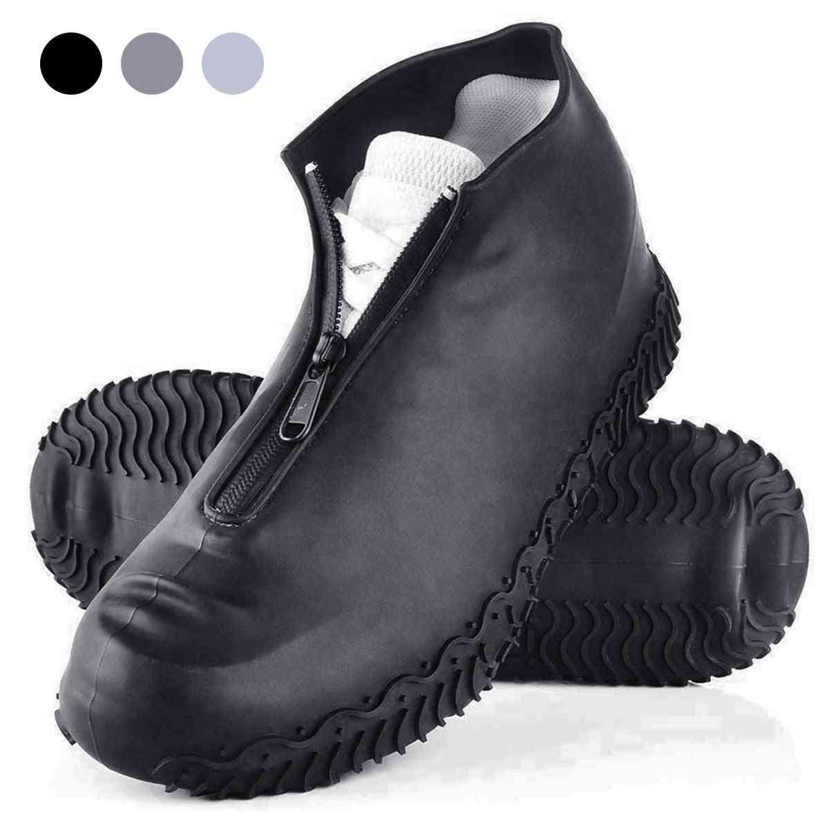 Reusable Folding Not-slip Silicone Rain Shoe Covers