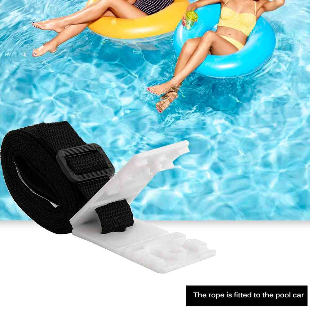 Swimming Pool Durable Accessory, Attachment Pool Cover, Pool Strapping Kit