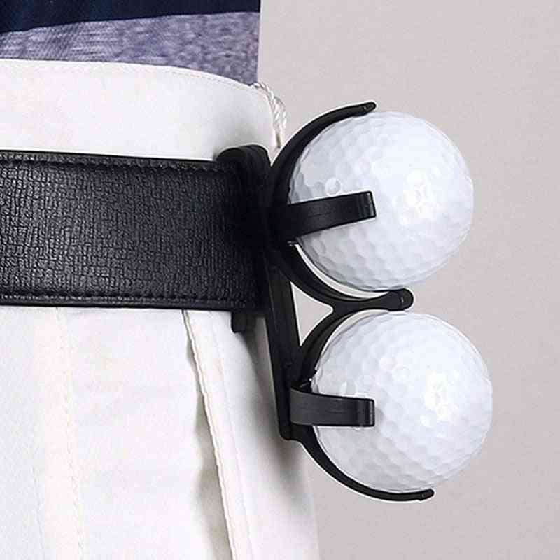 Golf Ball Holder With Clip