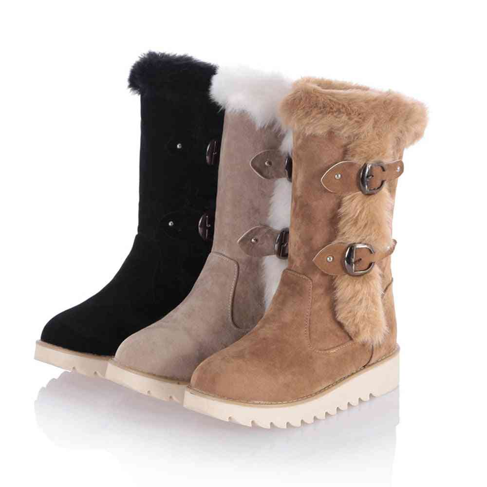New Hot Women Boots - Winter Fashion Snow Boots Shoes