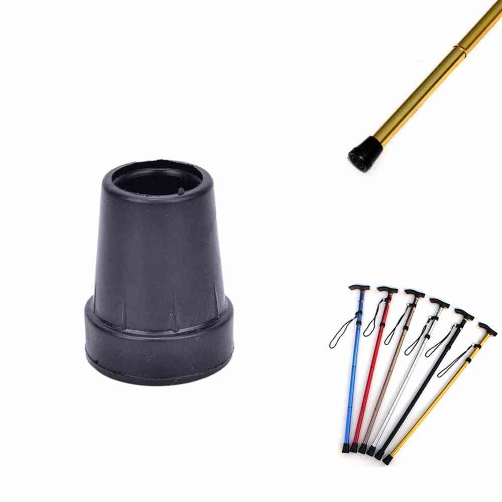Trekking Pole, Nordic Walk Stick Cane, Climb Replacement, Outdoor Camp Hike Protector Cap, Tip Rubber