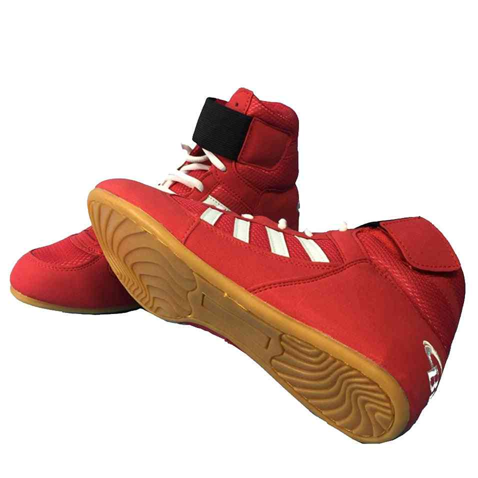 Professional Boxing, Wrestling Weightlifting Shoes For Man/woman