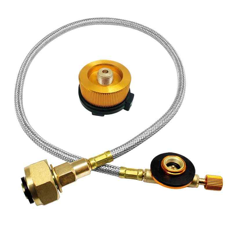 Outdoor Gas Stove, Refill Adapter, Burner Flat, Cylinder Tank, Bottle Adapter