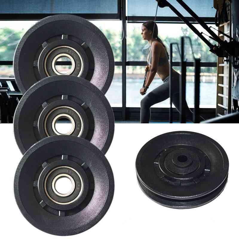 Diameter Wearproof Nylon Bearing Pulley Wheel Cable