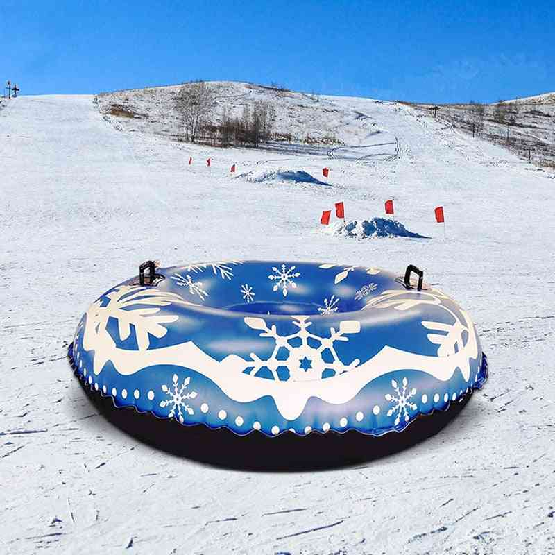 Inflatable Ski Ring Snow Tube Thickened Version