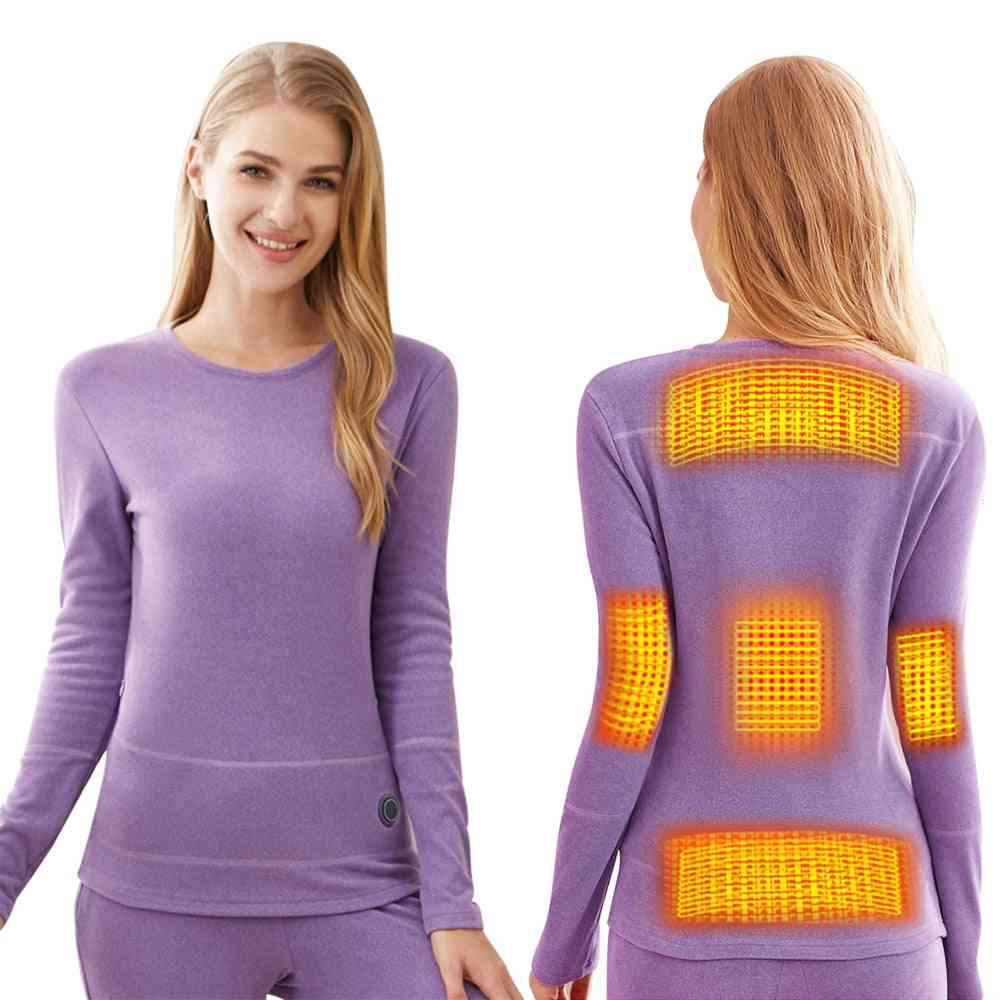 Electric Thermal Clothes Long, Pant Electric Suit Phone Control Temperature