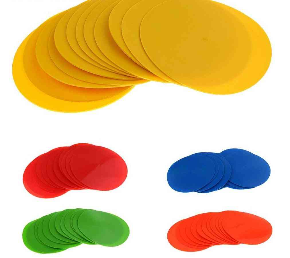 Colorful Pvc Spot Markers For Sports Drills And Training