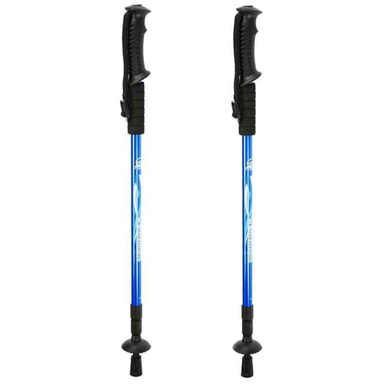 Walking Poles Adjustable Trekking, Telescopic Scandinavian, Sticks Anti Shock, Hiking