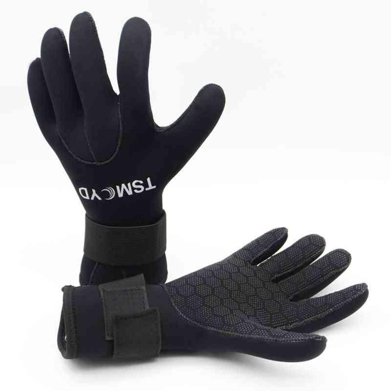 Neoprene Diving Gloves Men Wetsuit Underwater Hunting Gloves