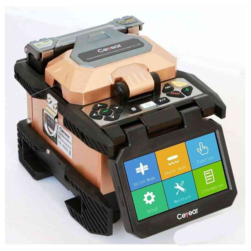 Ceyear 81a Military High Quality Cost Efficiency Optical Fiber Fusion Splicer Real 6-motors