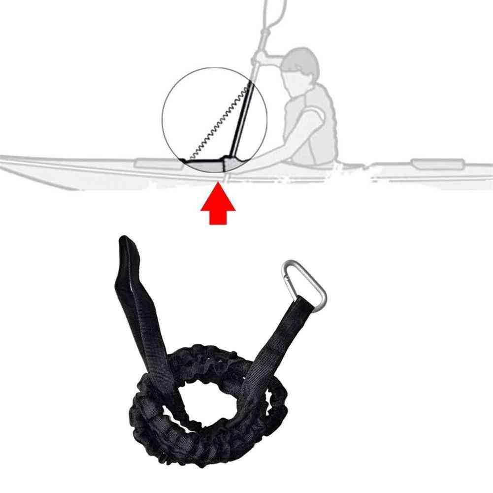 Oxford Cloth Kayak Canoe Paddle Leash Fishing Rod Leash Safety Rope