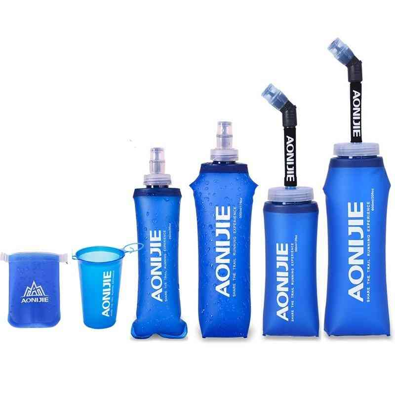 170ml-600ml Aonijie Running Sport Bicycle Soft Water Bottle