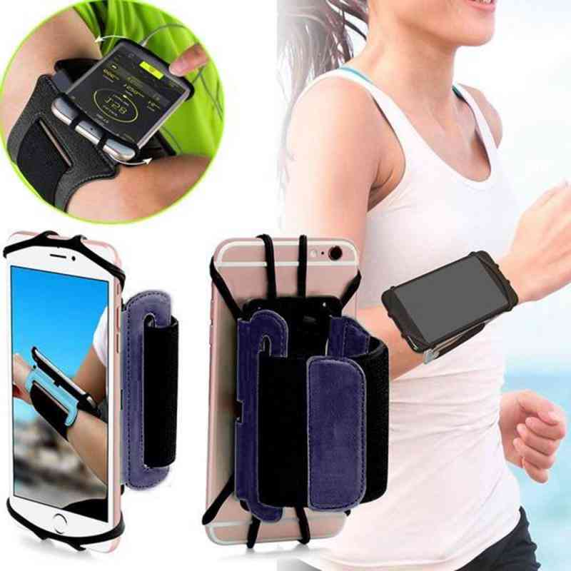 Men/women Armband Touch Screen Cell Phone Case Arm Band Bag