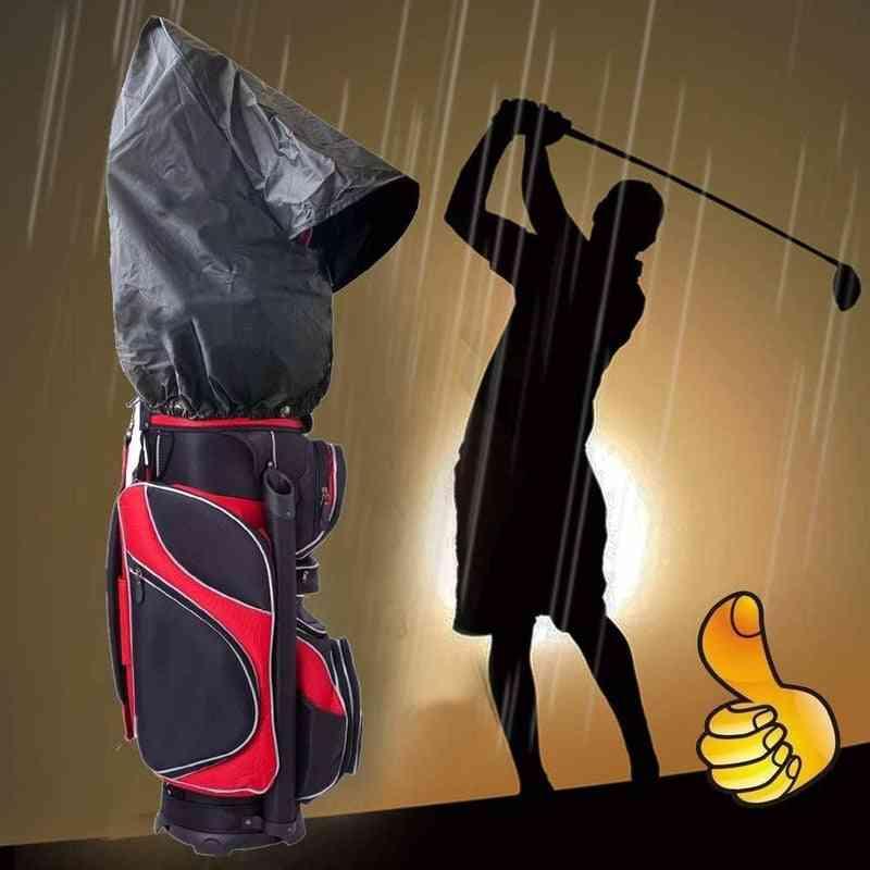 Golf Bag, Rain Cover, Waterproof Hood Protection,  Club Bags, Raincoat For Men, Women