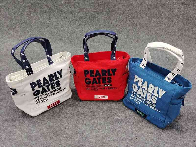 Golf Clubs Bag, Pearly Gates, Pg Hand Bag, Handbag