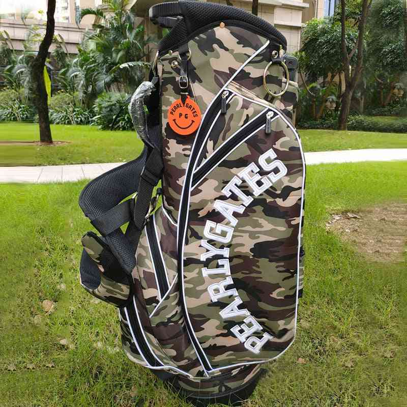 Golf Stand Bag, Waterproof Big Capacity, Packages Multi-pockets, Durable Clubs Equipments