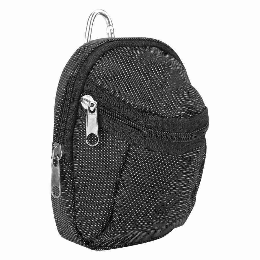 Golf Ball Holder, Portable Small Ball Waist Pack, Storage Pouch Accessory With Keyring