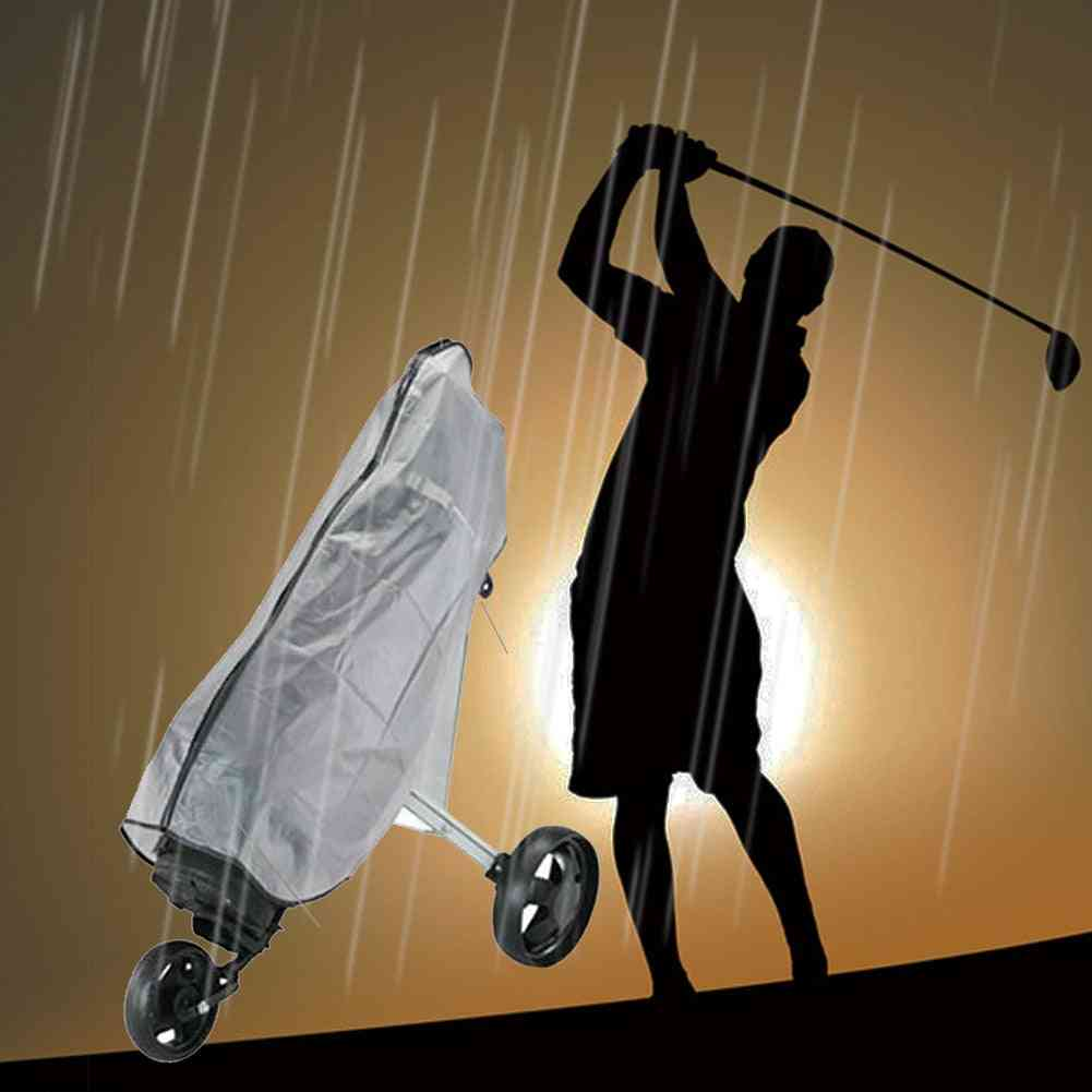 Waterproof Dustproof  Transparent Golf Rain Cover