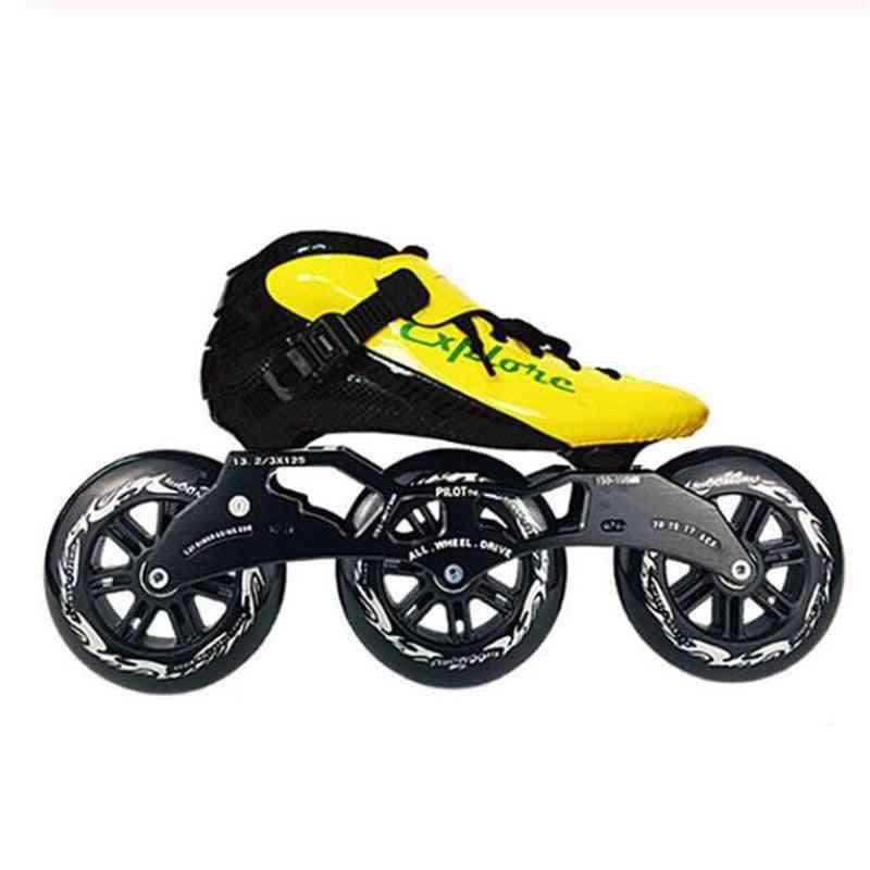 Speed Skates Frame Wheel Bearing Combination For 3x125mm Skating Base