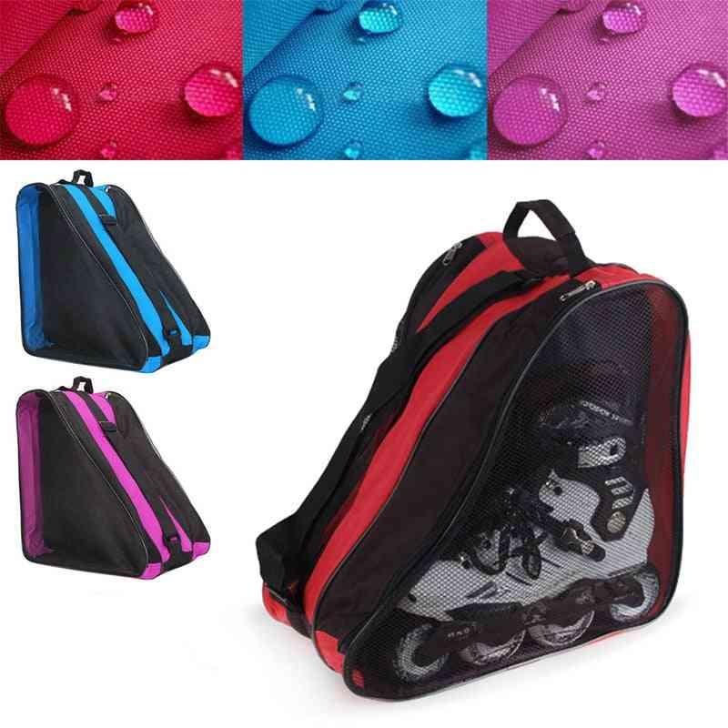 Hot Ice Skate Roller Blading Carry Bag With Shoulder Strap
