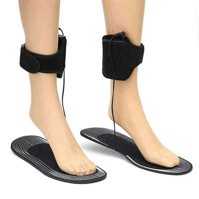 Electrically Heated Insoles With Control Battery, Powered For Women Shoes, Winter Ski, Ridding, Camping Pads