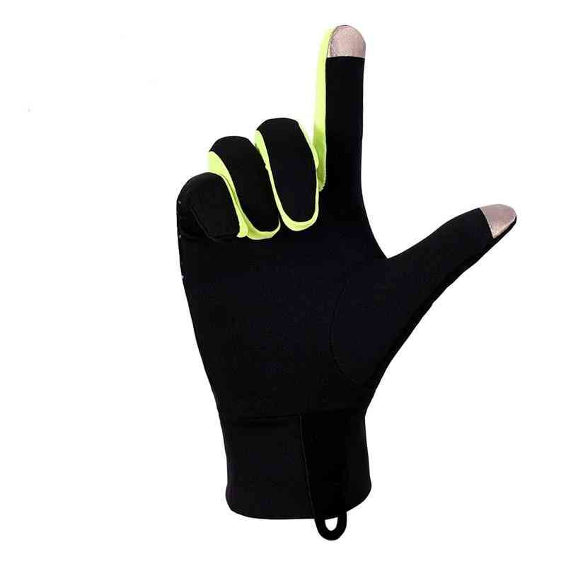 Windproof Thermal Winter Guantes Fleece Running, Jogging, Hiking, Cycling, Skiing Gloves