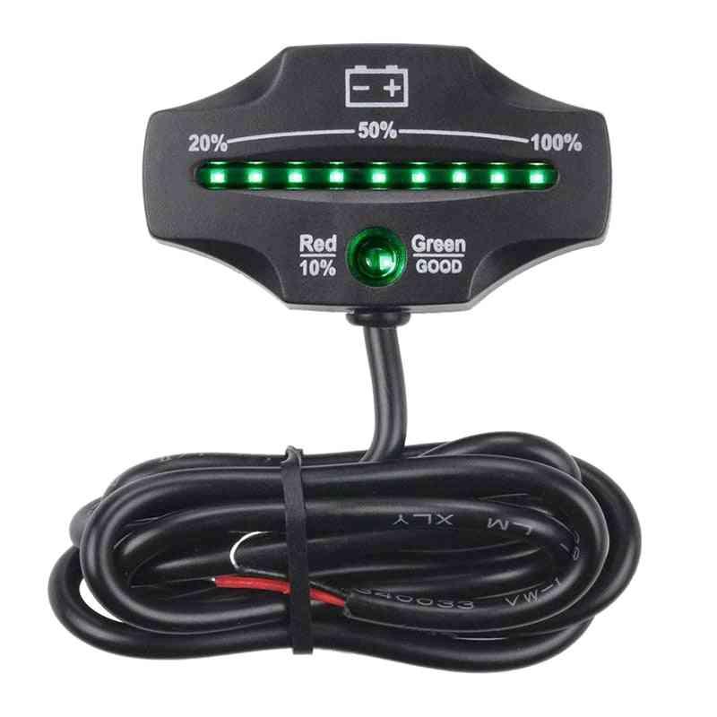 Battery Level Monitor For Golf