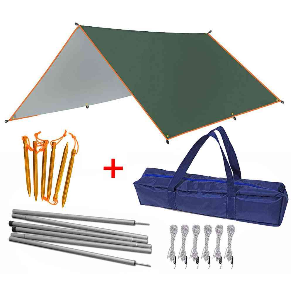 Waterproof Tarp Tent- Sun Shelter, Canopy Sunshade Tarp