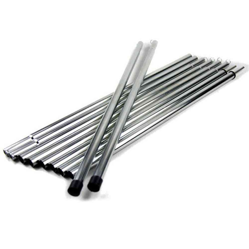 Tent Rods, Canopy Tarp Poles, Iron Frame, Camping Tent Accessories