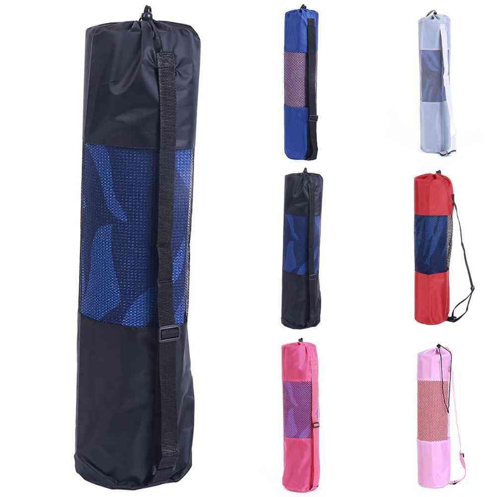 Portable Gym Fitness Yoga Mat, Blanket Carry Shoulder Bag