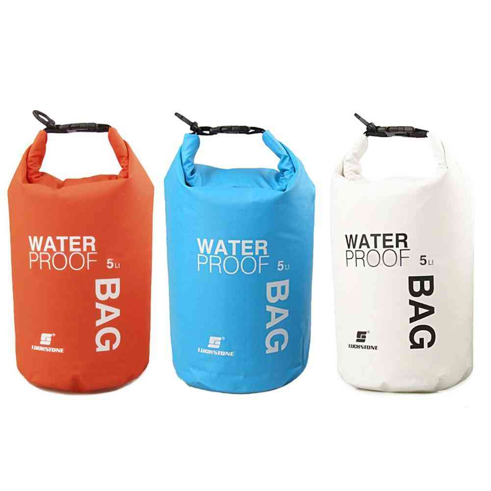 Waterproof Dry Bag, Floating Boating Rafting Kayaking Camping Bag